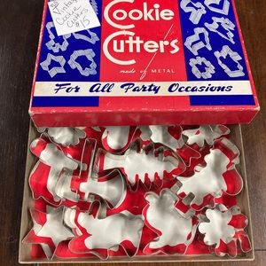 Vintage Holiday Cookie Cutters